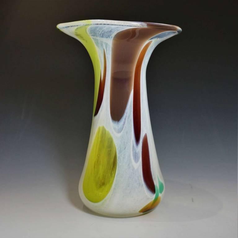 Shakspeare Glass - Small Nougat Vase
