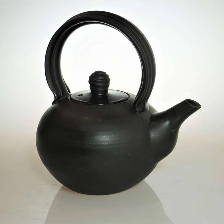 John Maguire - Black kettle Style Teapot