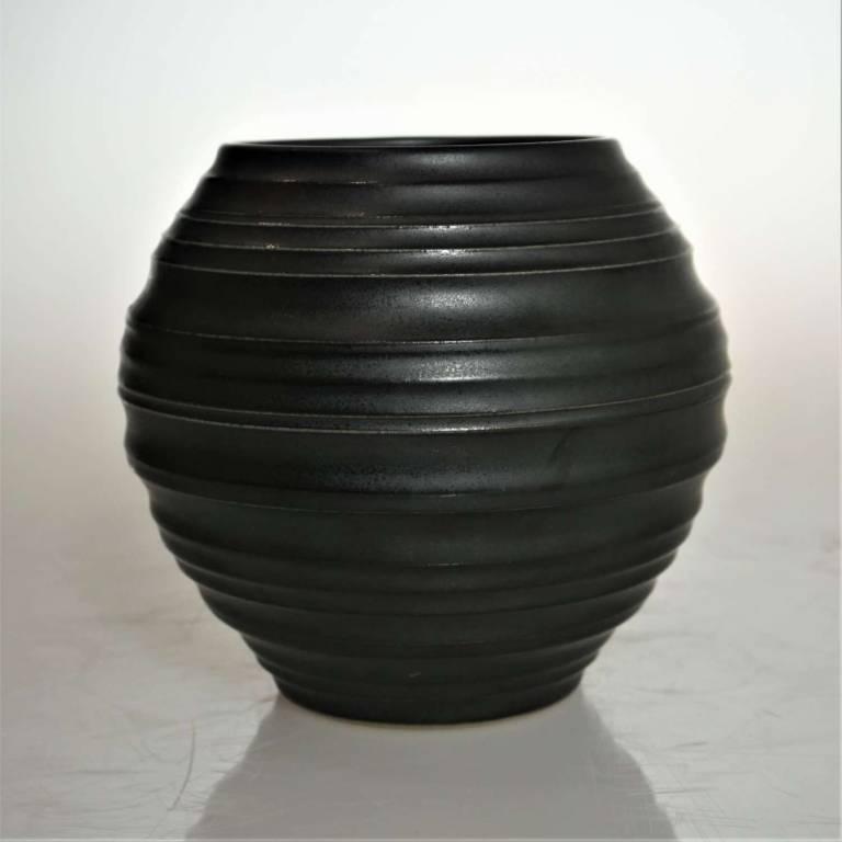 John Maguire - Small Black Vase