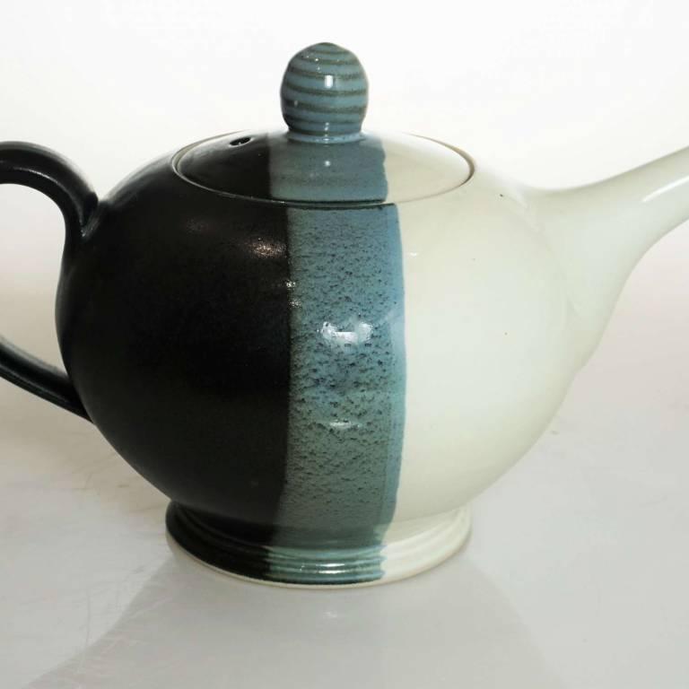 John Maguire - Black & White Teapot
