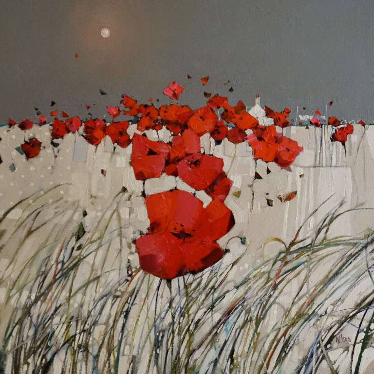 Gordon Wilson - Poppy Field and White Wash