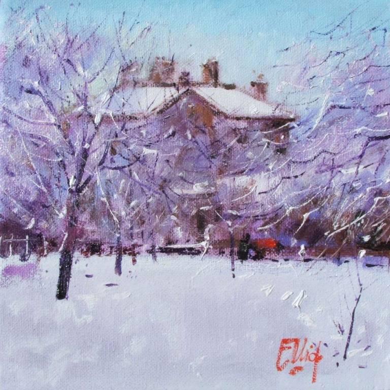 Ian  Elliot - A Winters' Morn, Pollok Park