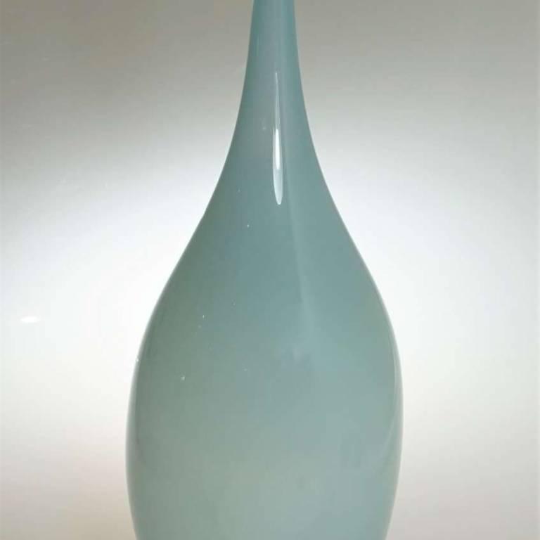 Mono Small Oval Pigeon Grey Bottle