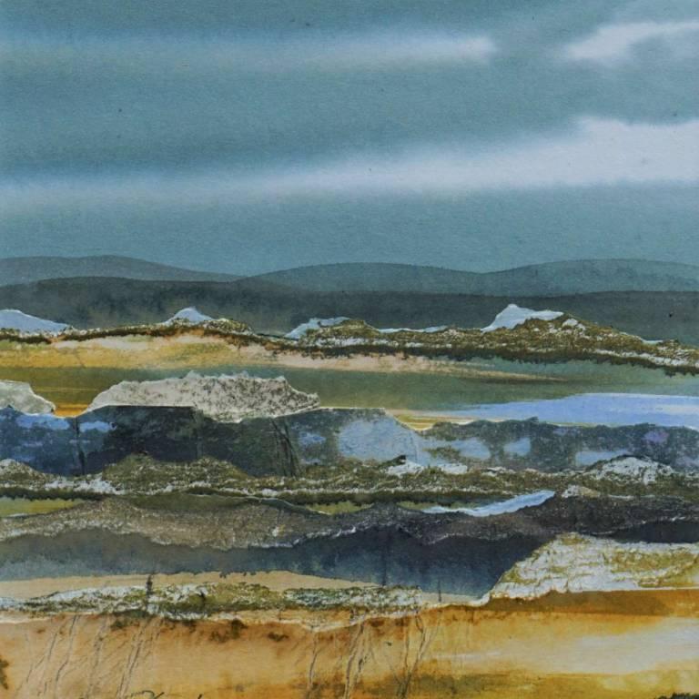 Duncan  MacLeod RSW - Evening's Promise, Sutherland
