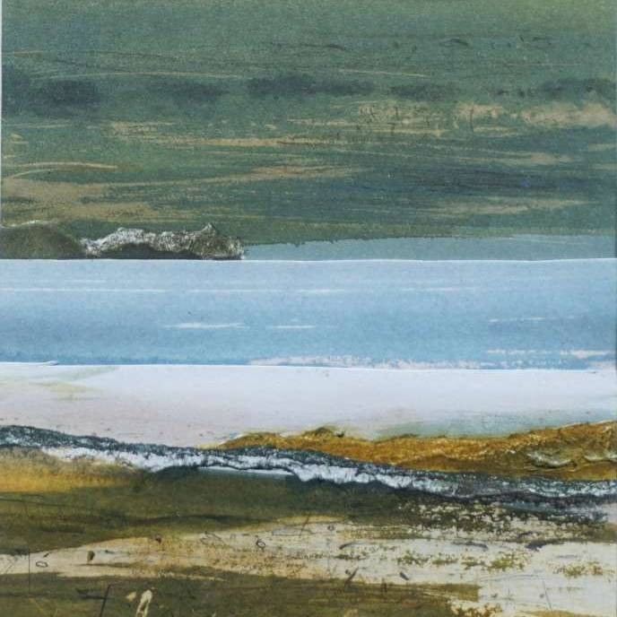 Duncan  MacLeod RSW - Where Sea & Shore Entwine
