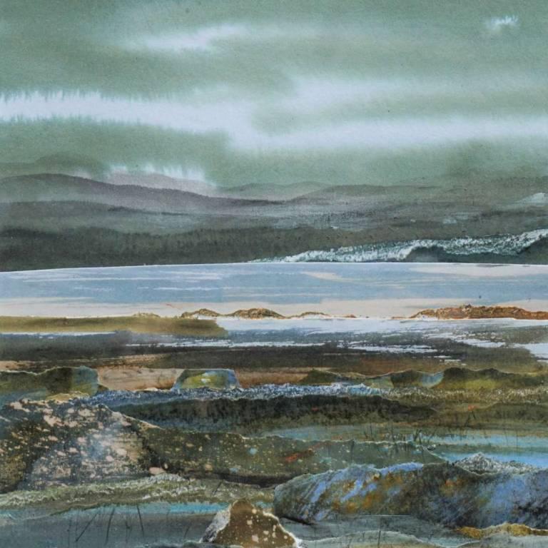 Duncan  MacLeod RSW - Hebridean Storm & Thunder