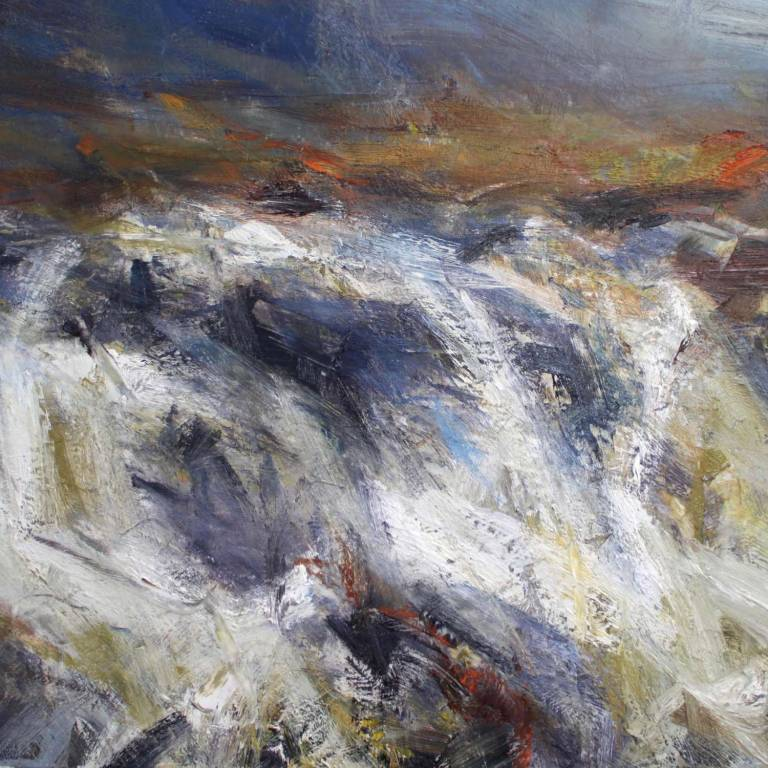 Jonathan Shearer - River Crossing, Balgy Falls