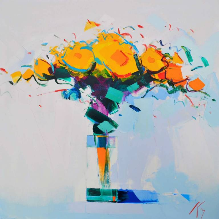 Peter King - Yellow Roses I