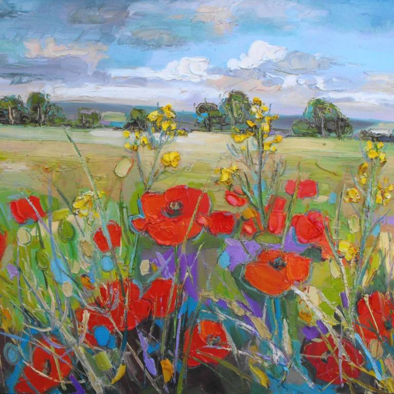 Judith I. Bridgland - Poppy Fields