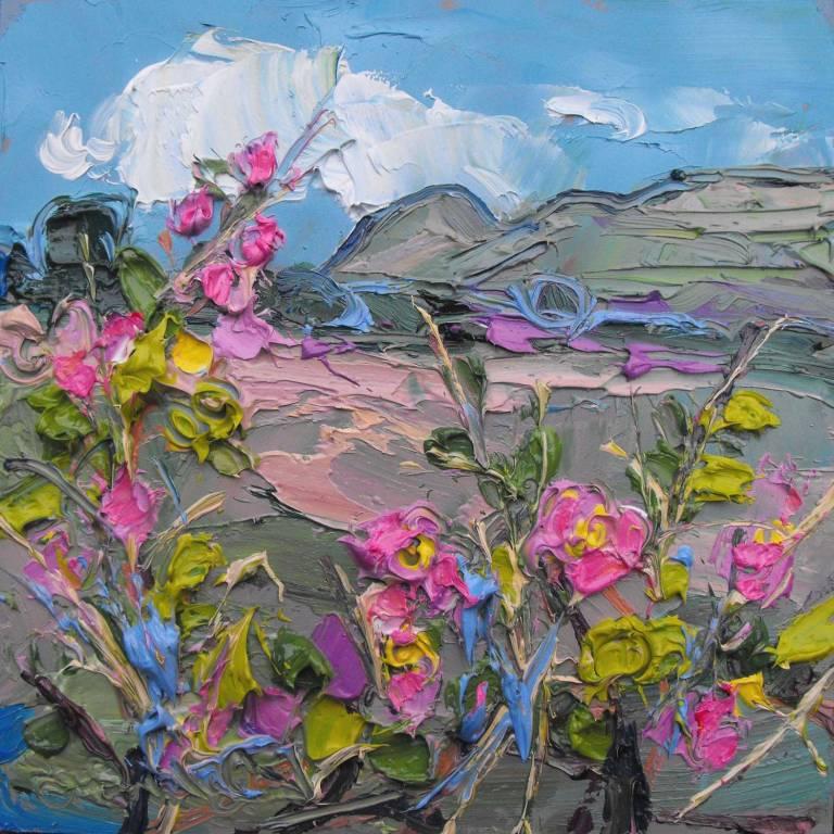 Judith I. Bridgland - Dog Roses, Dumgoyne