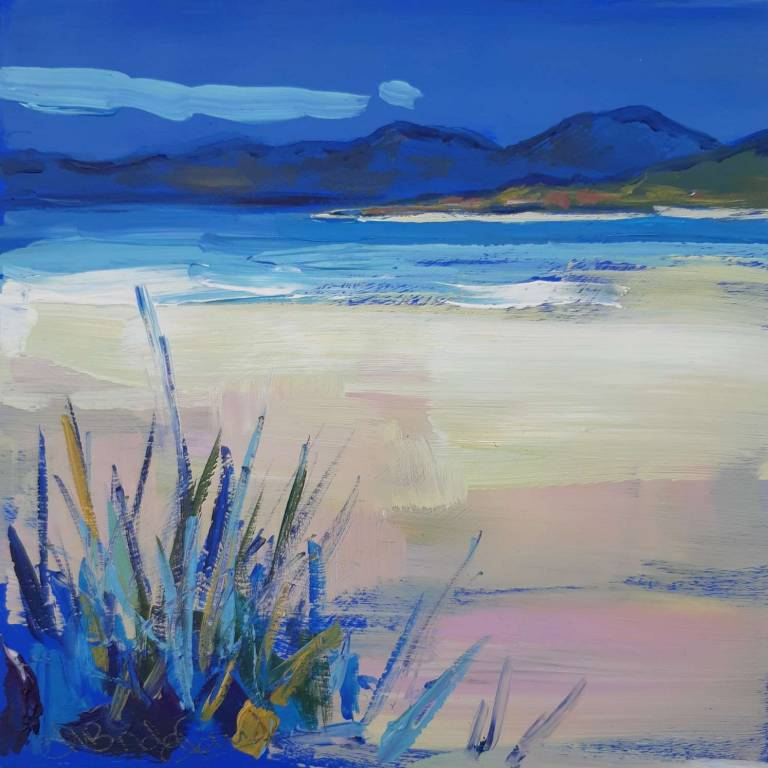 Judith I. Bridgland - Grasses By The Beach, Harris
