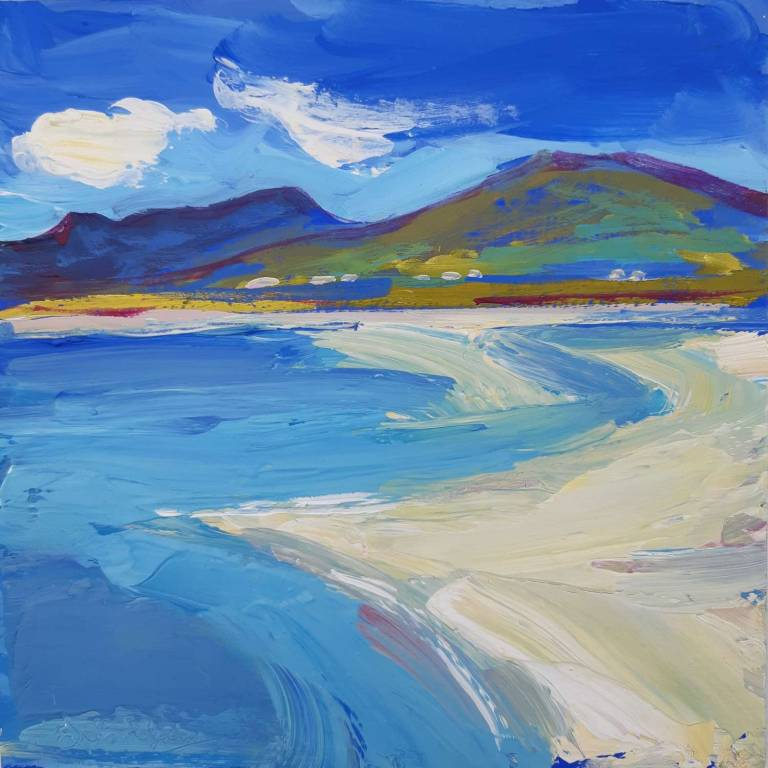 Judith I. Bridgland - Sand Patterns, Luskentyre, Harris