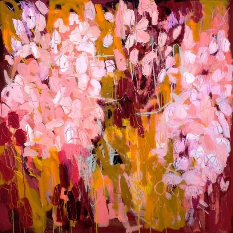 Kathryn  Adamson - Pink Petals