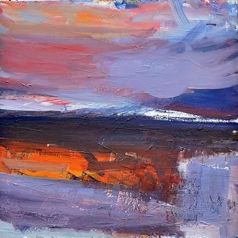 Mairi Clark - West Highland Sunset Shadow