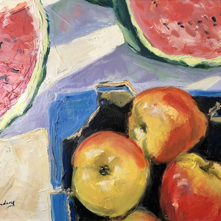 James Somerville Lindsay - Apples and Watermelons