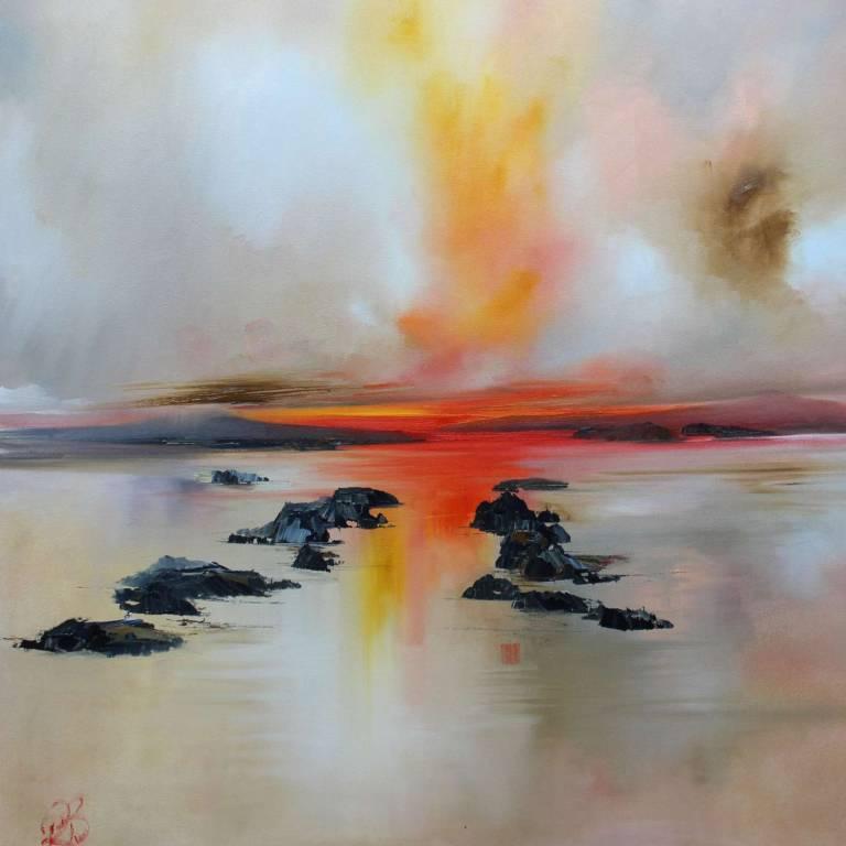 Rosanne Barr - Misty Sunset