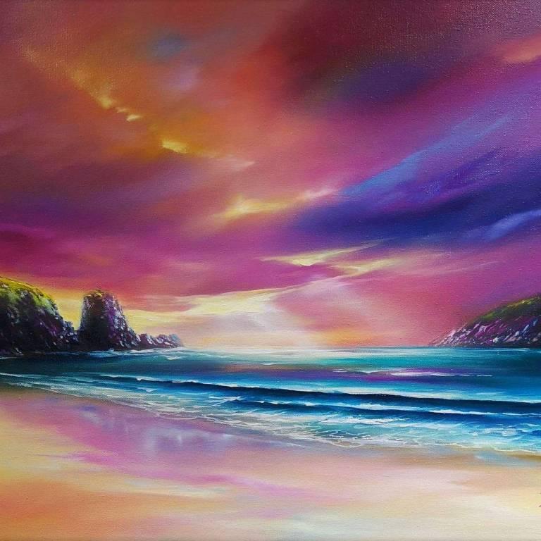 Douglas Roulston - Dalbeg's Evening Storm, Isle of Lewis
