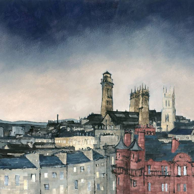 Dominic Cullen - Four Towers, Evening Sky