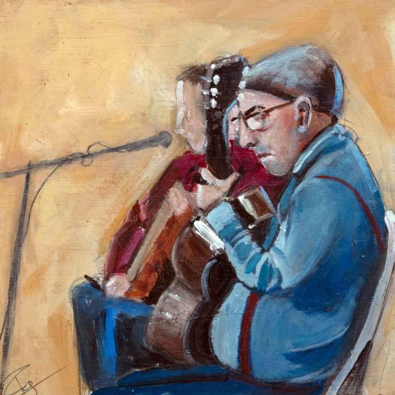 Paul Graham - Guitar Players, Seville
