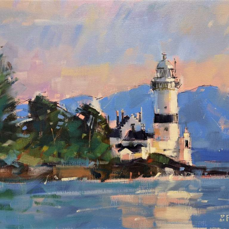 Peter Foyle - Evening, Cloch Lighthouse