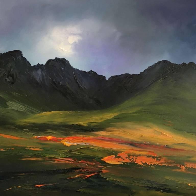 In the Heart of the Black Cuillin, Isle of Skye