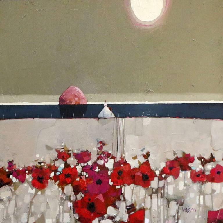 Gordon Wilson - Pink Ailsa & Poppies