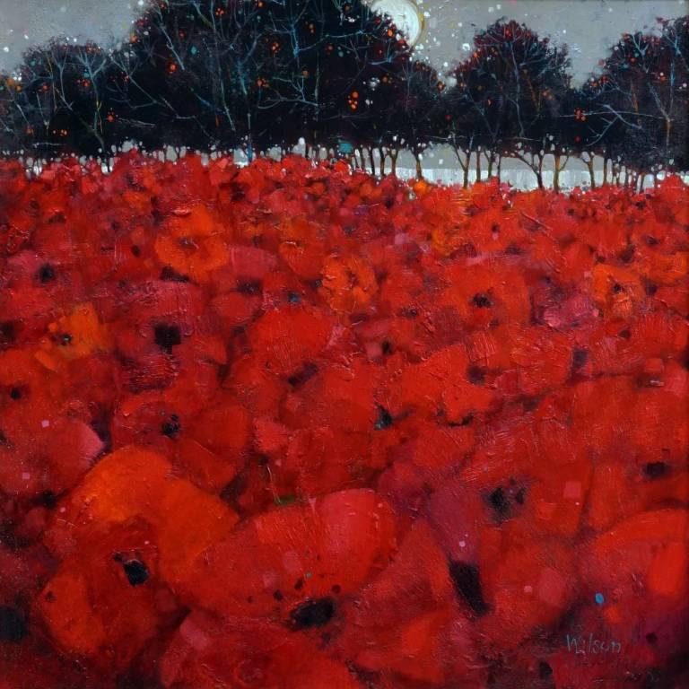 Gordon Wilson - Sundown Wild Poppy Orchard