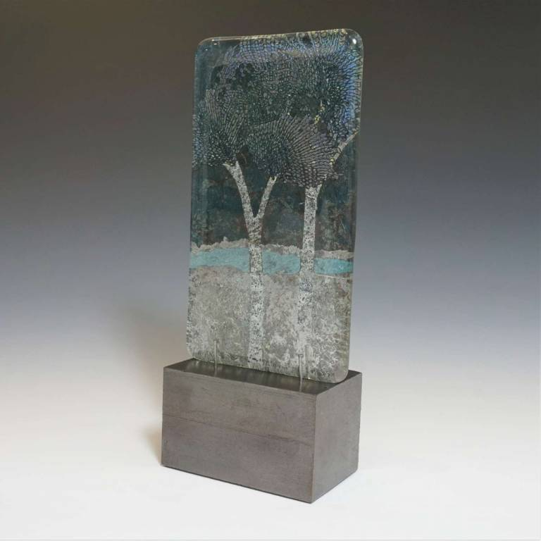 Wendy Newhofer - Glass Landscape Panel