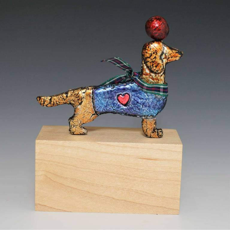 Deborah Fox - Dashing Dachshund