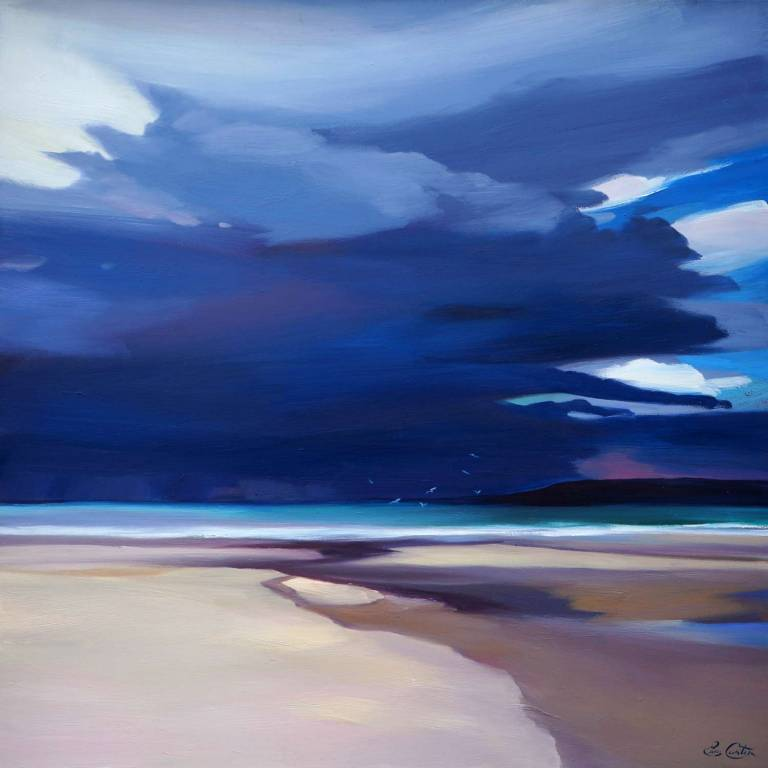 Pam Carter - Storm Reflections Tiree