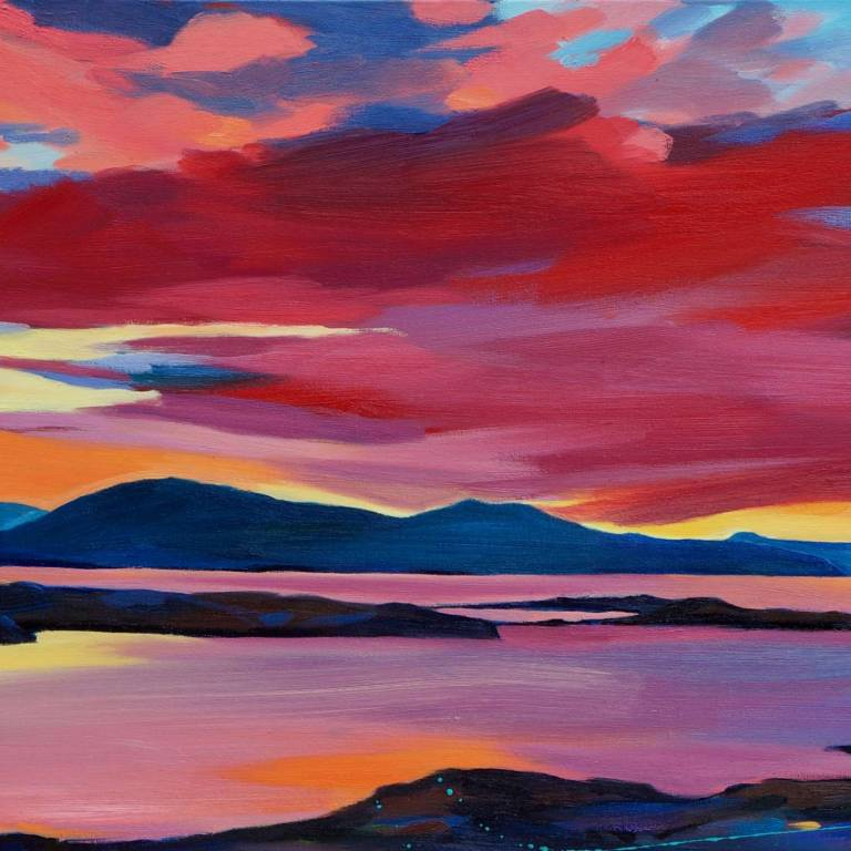 Pam Carter - Waterloo To Cuillin Sunset