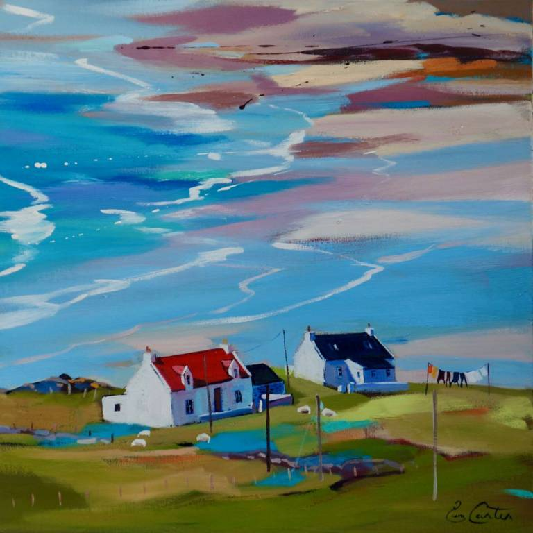 Pam Carter - Red Roof Over The Bay
