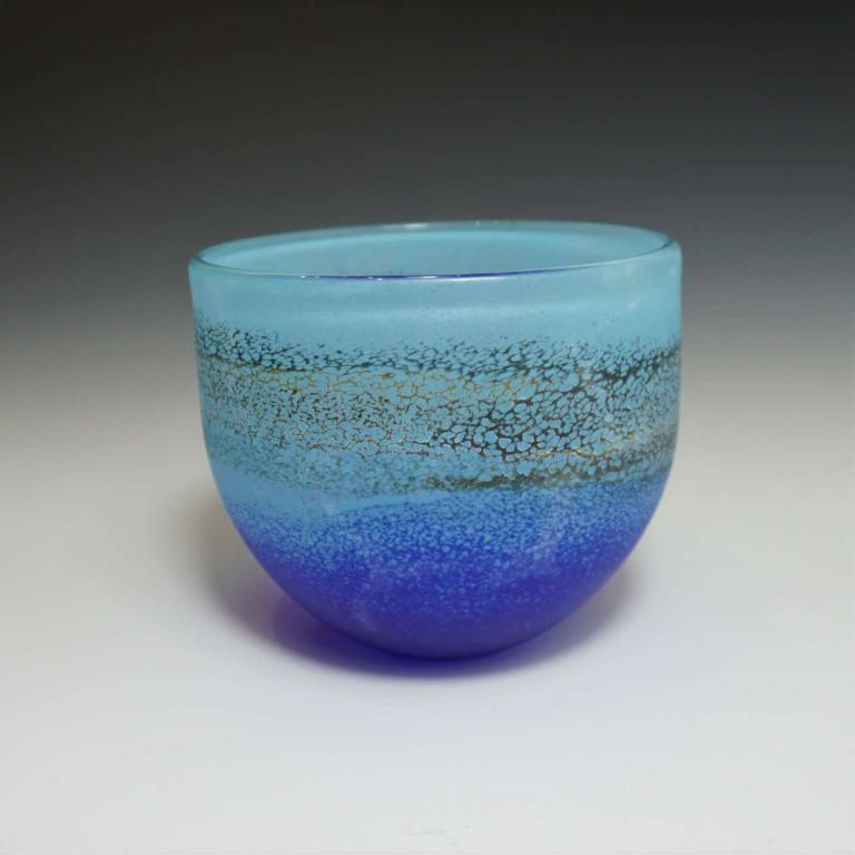 Will Shakspeare  - Small Aqua/Blue Coast Bowl