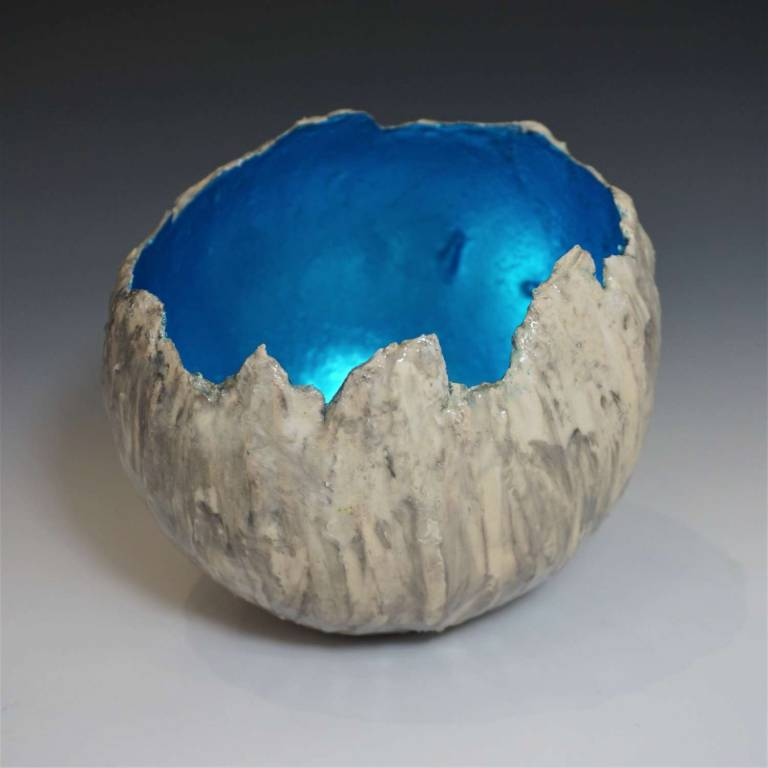 Siobhan Miles-Moore - Deluge Microcosm Turquoise