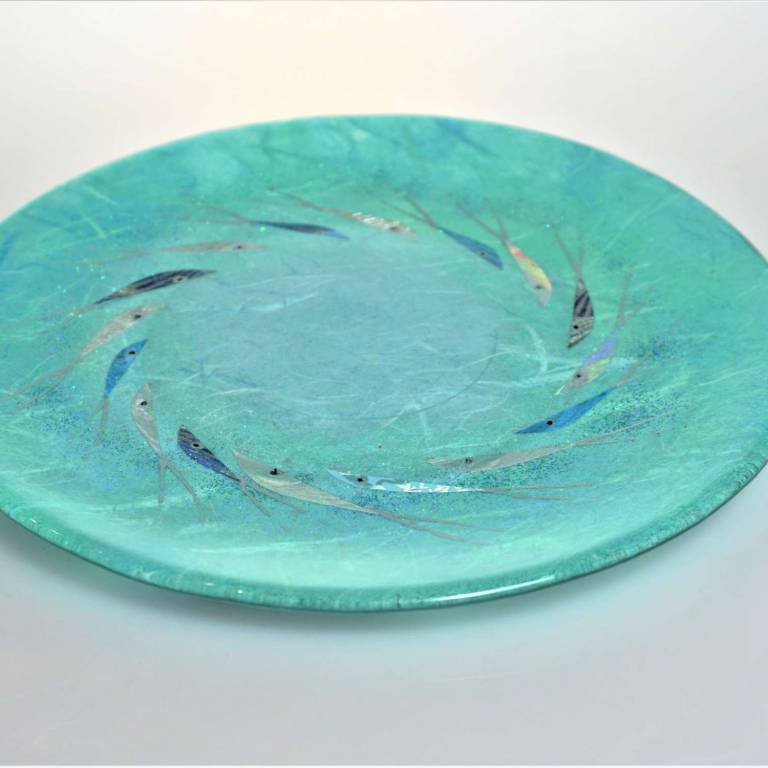 Margaret  Johnson - Small Candle Plate