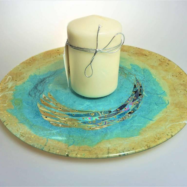Margaret  Johnson - Medium Candle Plate