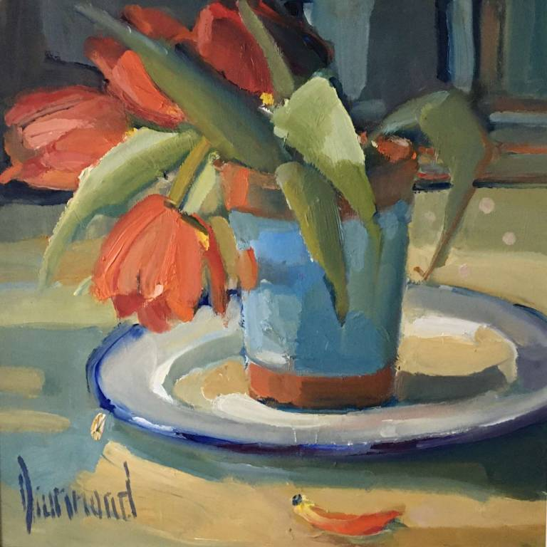 Marion Drummond PAI - Little Red Tulips