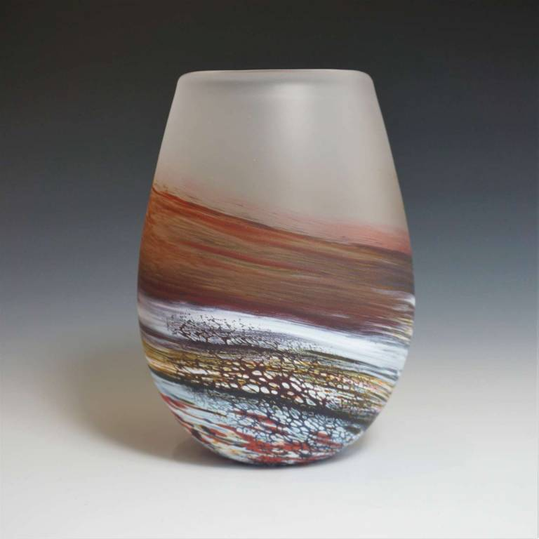 Richard Glass - Short Bud Vase