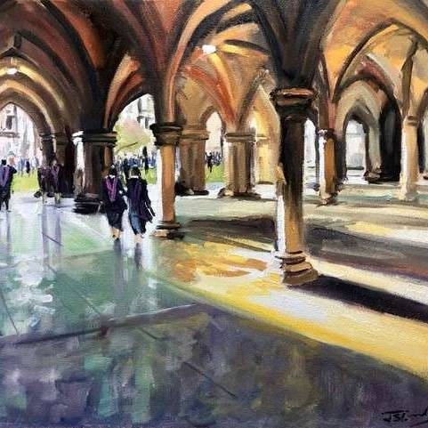 James Somerville Lindsay - Graduation Day Glasgow University