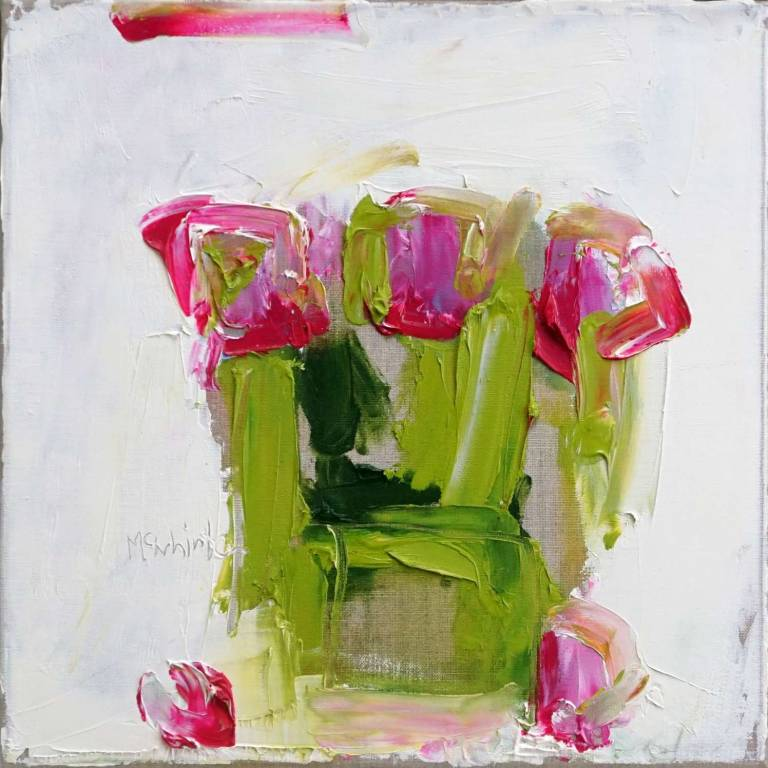 Alison McWhirter - Tulips Against Warm White