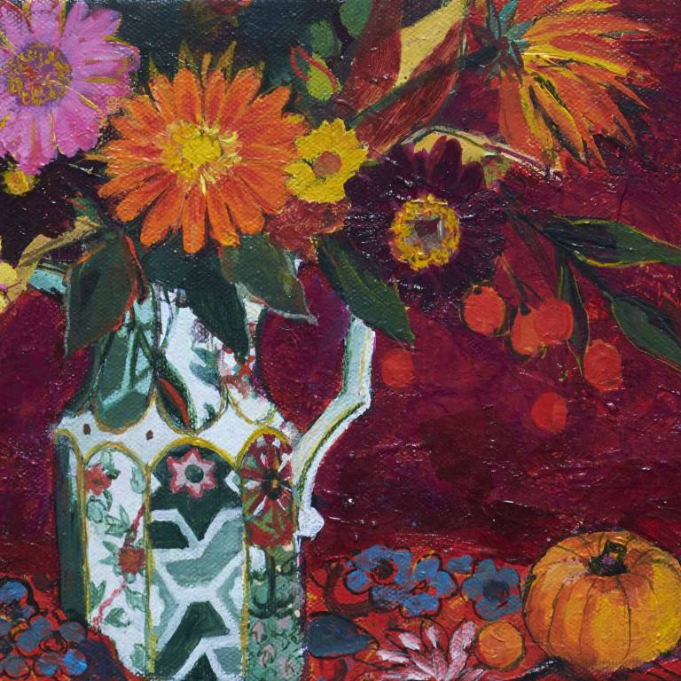 Ann Oram RSW - October Flowers and Fruit