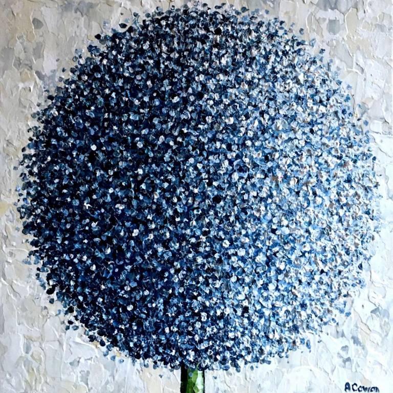 Pom Pom In Blue