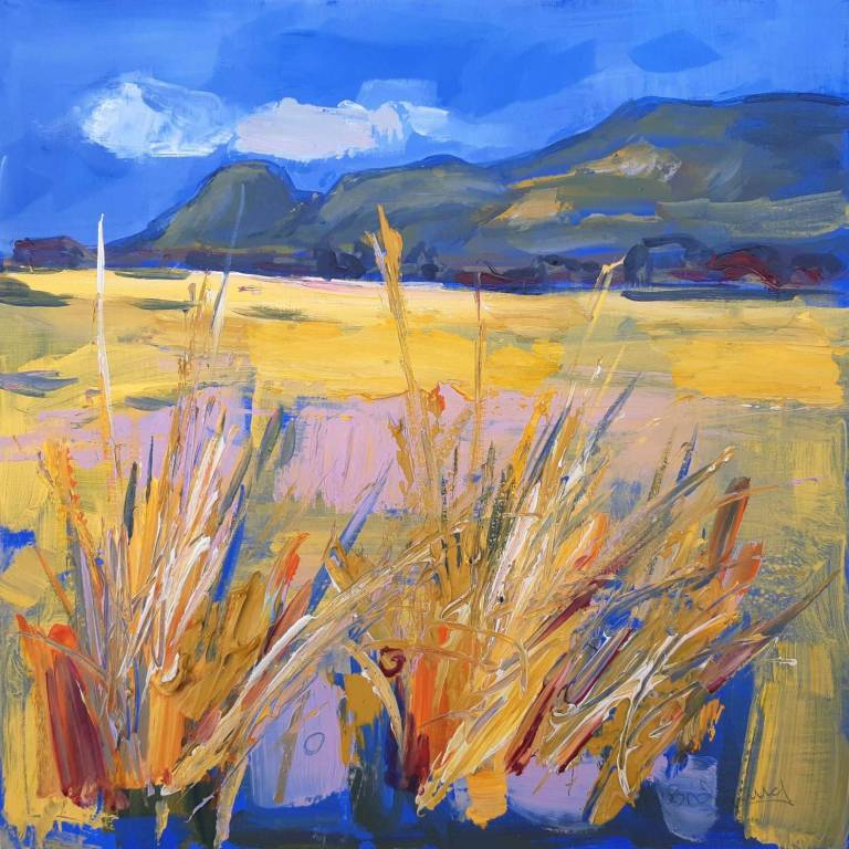 Judith I. Bridgland - Grasses, The Campsies