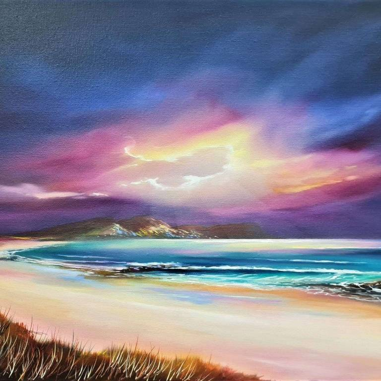 Douglas Roulston - Storm Light Over Barrapol, Tiree