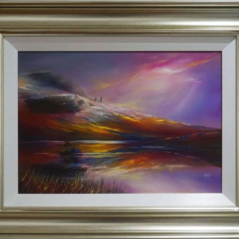 Douglas Roulston - Winter Colours Over Loch Fada