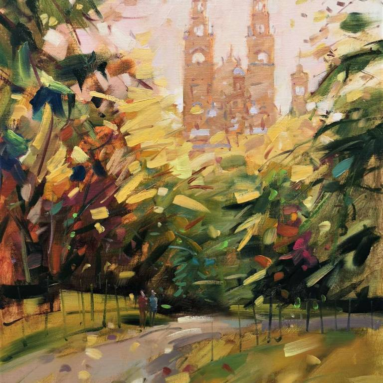 Peter Foyle - Autumn Light, Kelvingrove