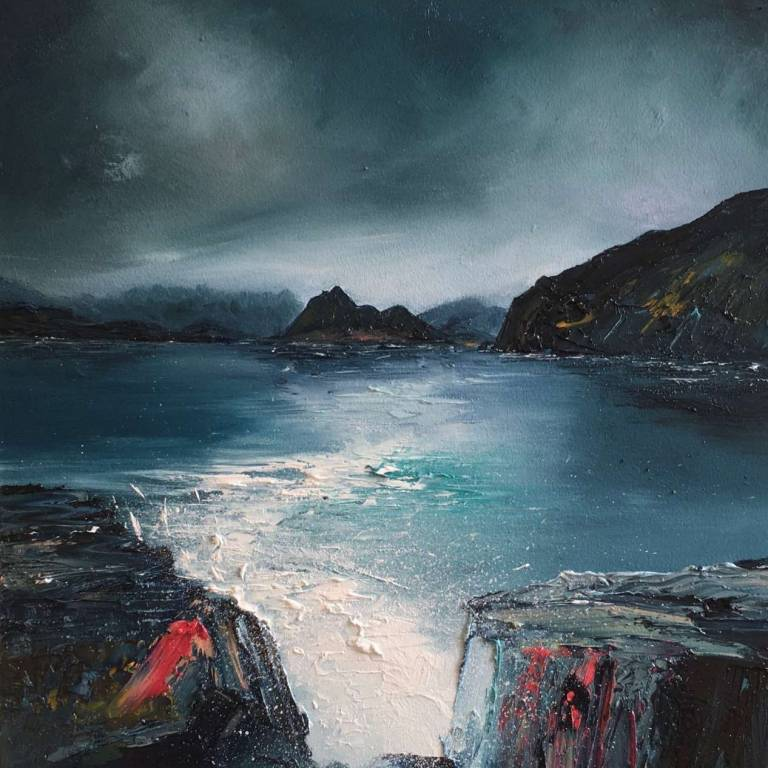 Linda Park - Retreating Storm Eigol, Isle Of Skye