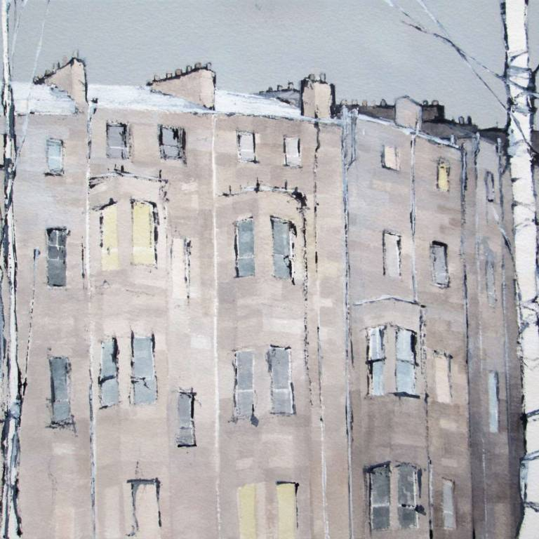 Dominic Cullen - Charing Cross, Snow I
