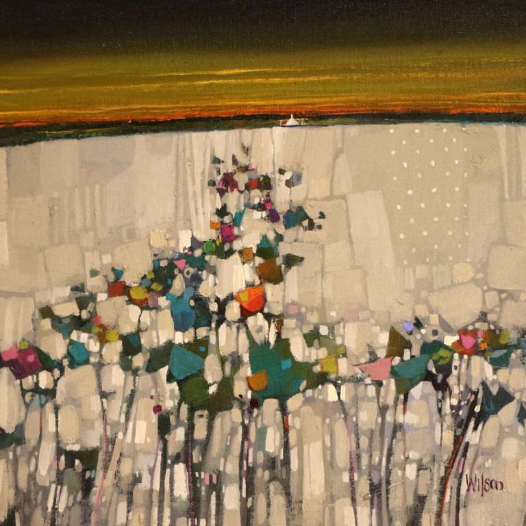 Gordon Wilson - Summer Sunset, Skye