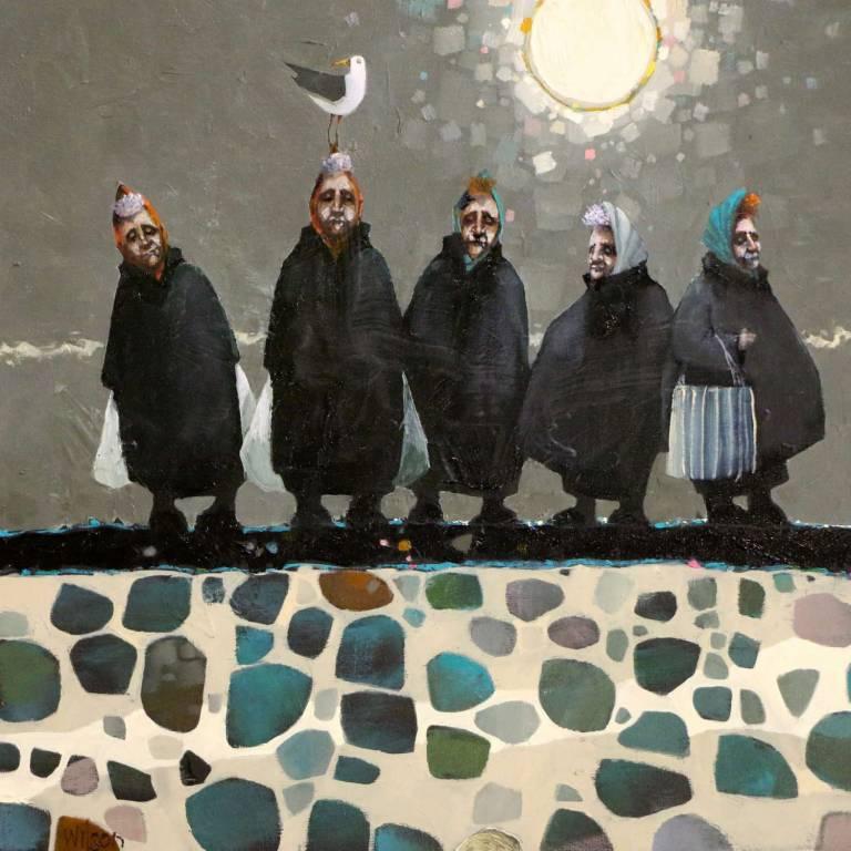 Gordon Wilson - The Harbour Wall Posse